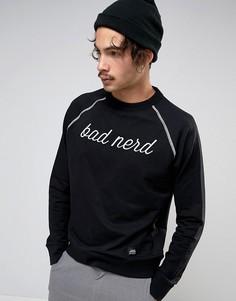 Свитшот с принтом Bad Nerd Cheap Monday - Черный