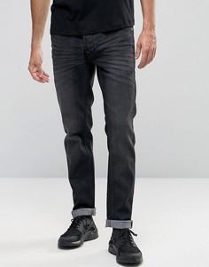 Черные выбеленные джинсы стретч узкого кроя !SOLID - Черный