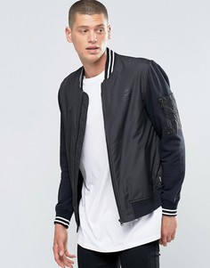 Черная куртка-пилот Converse 10001108-A01 - Черный