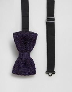 Фиолетовый вязаный галстук-бабочка Feraud - Фиолетовый