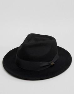 Черная мягкая фетровая шляпа Goorin Fratelli - Черный
