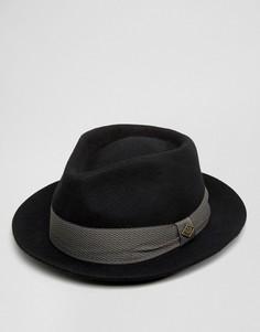 Черная фетровая шляпа Goorin Griffin - Черный