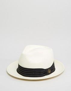 Белая соломенная шляпа Goorin Snare - Белый