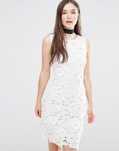 Облегающее платье Darling Ailsa - Кремовый