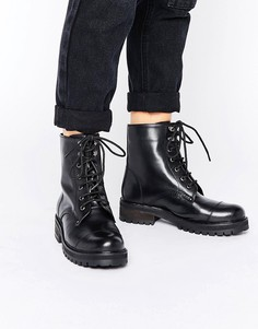 Массивные ботинки на шнурках Park Lane - Черный