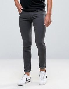 Серые джинсы скинни Bellfield Street - Темно-синий