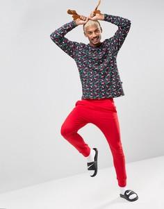 Новогодняя пижама SSDD - Красный