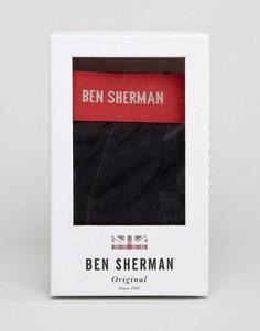 Подарочный набор с боксерами-брифами и носками Ben Sherman - Красный