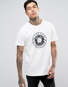 Белая футболка Volcom Thunderbolt - Белый