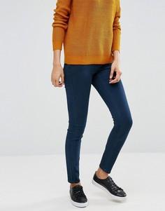 Облегающие джинсы с завышенной талией J.D.Y - Синий JDY