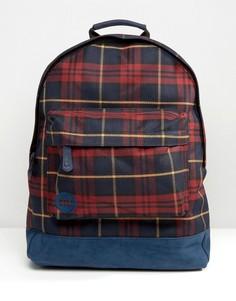 Рюкзак с принтом тартан Mi-Pac - Черный