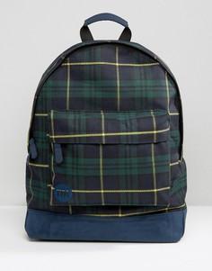 Рюкзак с принтом тартан Mi-Pac - Темно-синий