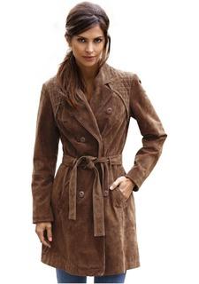 Велюровое пальто Rick Cardona