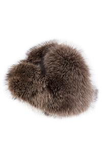 Комбинированная шапка из меха енота SVK BY Kussenkovv