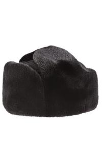 Комбинированная шапка из меха бобра SVK BY Kussenkovv