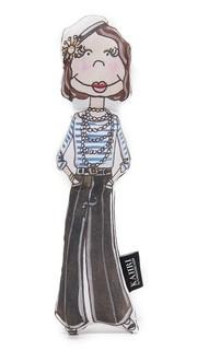 Маленькая кукла в виде Коко Шанель Kahri
