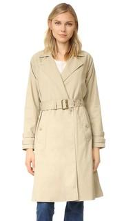 Классическое пальто-тренч Frame