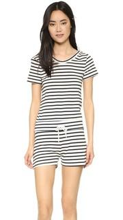 Комбинезон в французскую полоску с лифом в стиле футболки Monrow