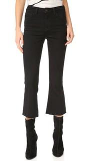 Укороченные расклешенные джинсы Sophia с высокой посадкой Lagence