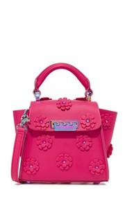 Миниатюрная сумка Eartha Iconic с цветочным рисунком ZAC Zac Posen