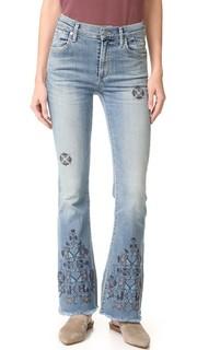 Обрезанные расклешенные джинсы Fleetwood Citizens of Humanity