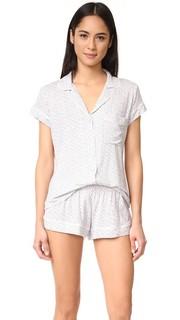 Пижама с шортами Chic Eberjey