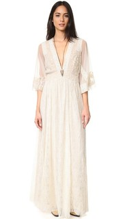 Макси-платье Eclair с вышивкой Free People