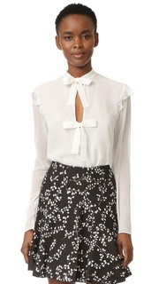 Блуза с завязками спереди Giambattista Valli