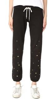 Винтажные спортивные брюки с изображением звездной пыли Monrow