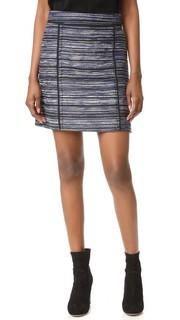Мини-юбка из буклированной ткани Jason Wu