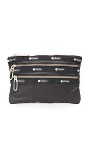 Классическая сумочка с тремя молниями Le Sportsac