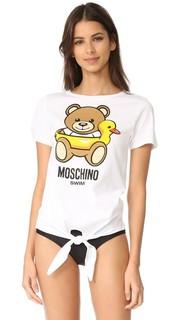 Пляжная футболка Moschino