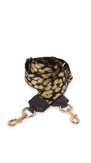 Ремень для сумки/гитары из тесьмы с леопардовым принтом Marc Jacobs