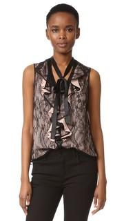 Блуза All or Nothing с завязками на вырезе Nanette Lepore