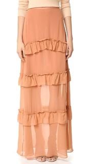 Многоуровневая юбка из жоржета Nicholas
