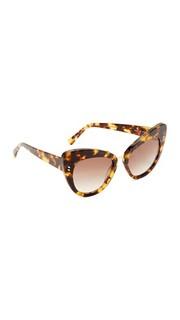 Солнцезащитные очки «кошачий глаз» Stella Mc Cartney