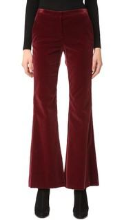 Бархатные брюки Caroleena Theory