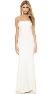 Платье без бретелек Jill Jill Stuart