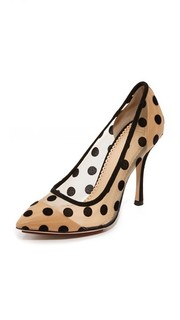 Туфли-лодочки Bacall с подошвой в форме сердца Charlotte Olympia