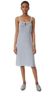 Платье в полоску без рукавов Jenni Kayne