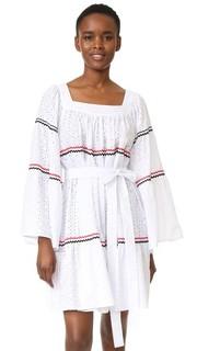 Короткое платье в деревенском стиле Lisa Marie Fernandez