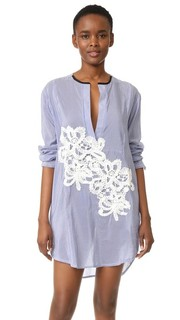 Платье-рубашка в полоску Jesi Flower Lila.Eugenie