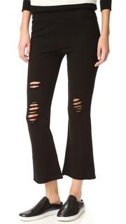 Укороченные расклешенные брюки Pam & Gela
