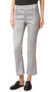 Укороченные расклешенные брюки Smythe