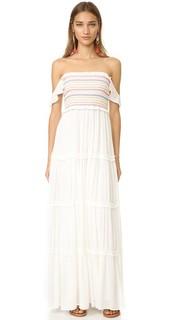 Платье со сборками Tory Burch