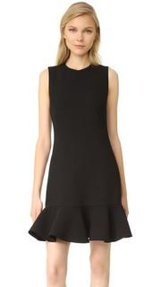 Платье с оборками на подоле Victoria Victoria Beckham