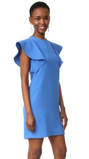 Свободное платье с оборчатыми рукавами Victoria Victoria Beckham