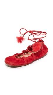Балетки Seleste со шнуровкой Yosi Samra