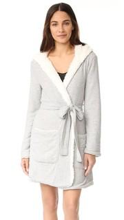 Уютный халат с капюшоном Splendid