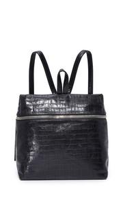 Рюкзак с тиснением под крокодила Kara